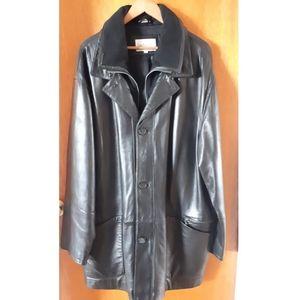🛑Guy Laroche Lambskin Leather Coat